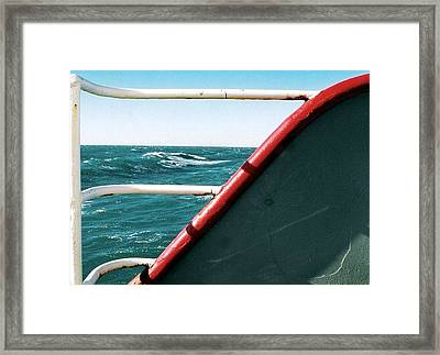 Framed Print featuring the photograph Rolling Wave by Michael Hoard