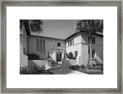 Rollins College Warren Administration Building Framed Print by University Icons