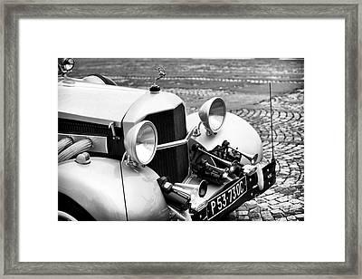 Rolls Framed Print