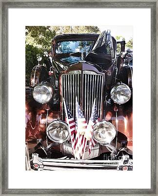 Rolls Royce Car  Framed Print