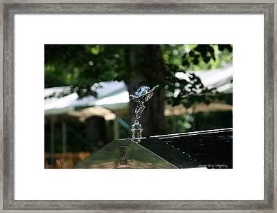 Framed Print featuring the photograph Rolls Royce by Leena Pekkalainen