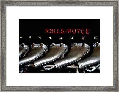 Rolls Royce Merlin 62 Framed Print by See My  Photos