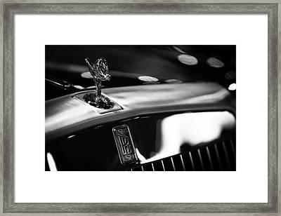 Rolls Royce Framed Print by Sebastian Musial