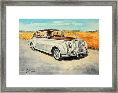 Rolls Royce Silver Cloud Framed Print