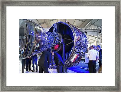 Rolls-royce Trent 1000 Framed Print by Mark Williamson