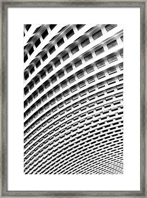 Framed Print featuring the photograph Roma Abstract by Matthew Ahola