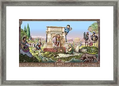 Roma I Framed Print by Odysseas Stamoglou