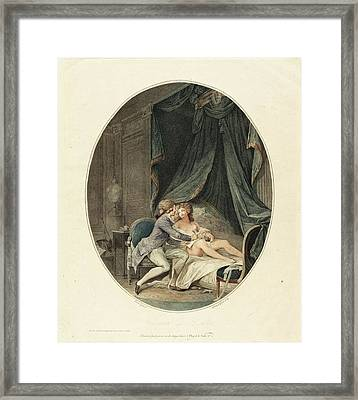 Romain Girard After Nicolas Lavreince French Framed Print by Quint Lox
