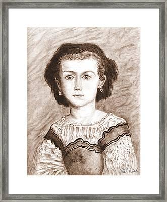 Romaine Lascaux Framed Print by Phil Clark