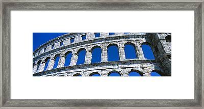 Roman Amphitheater, Pula, Croatia Framed Print