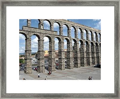 Roman Aqueduct IIi Framed Print