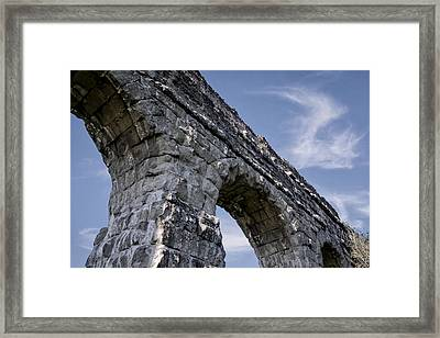 Roman Aqueducts II Framed Print by Joan Carroll