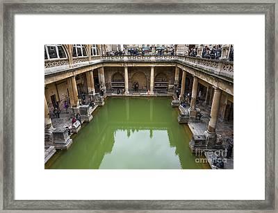Roman Bath 02 Framed Print by Svetlana Sewell