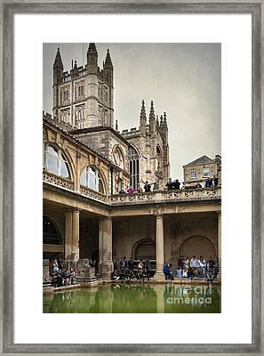 Roman Bath 04 Framed Print by Svetlana Sewell