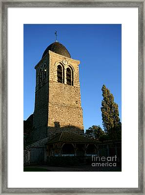 Roman But Gothic Framed Print