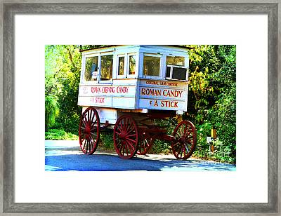 Roman Candy Framed Print by Scott Pellegrin