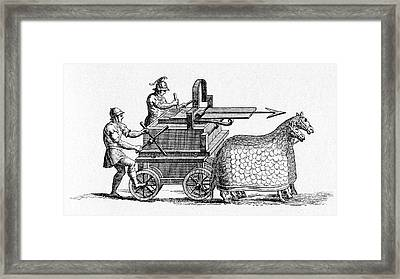 Roman Crossbow Framed Print