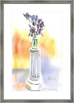 Roman Holiday Framed Print by Kip DeVore