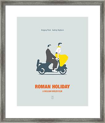 Roman Holiday Framed Print