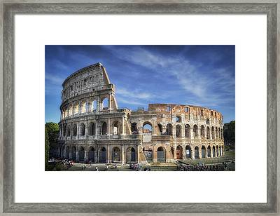 Roman Icon Framed Print