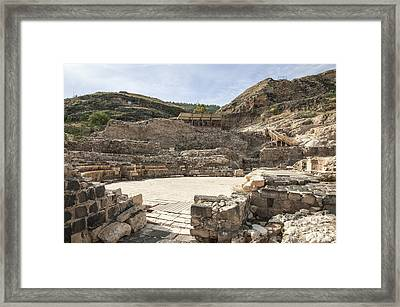 Roman Ruins Framed Print by Photostock-israel