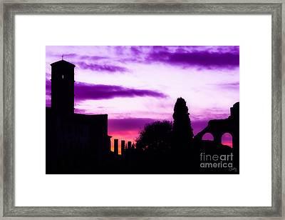 Roman Sunrise Framed Print