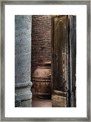 Roman Vase Framed Print