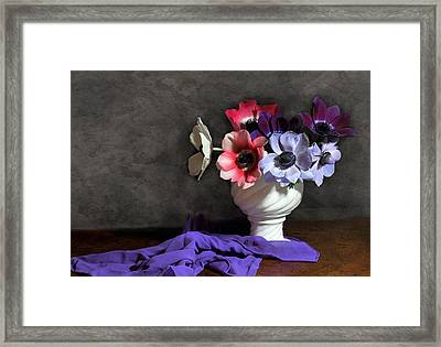 Romance Framed Print by Diana Angstadt