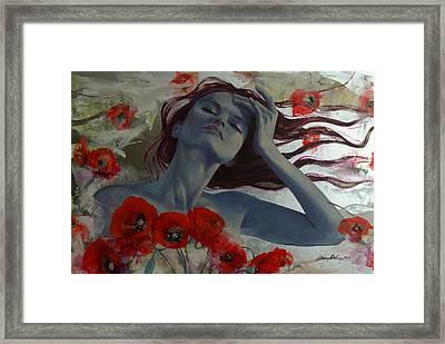 Romance Echo Framed Print by Dorina  Costras
