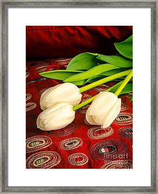 Romance Framed Print by Edward Fielding