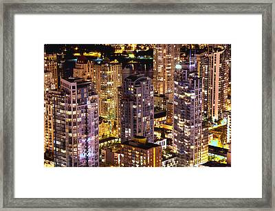 Framed Print featuring the photograph Romance In Yaletown Mcdxxxi by Amyn Nasser