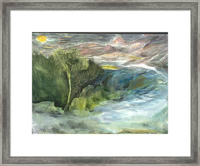 Romance Natural Framed Print