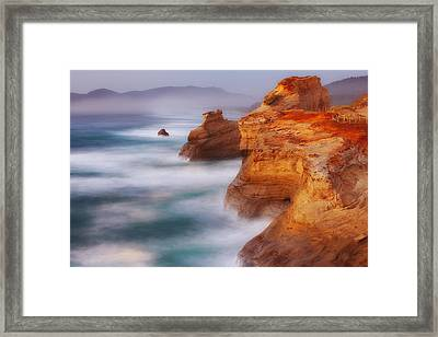 Romancing The Stone Framed Print by Darren  White