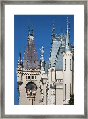 Romania, Moldavia, Iasi, Palace Framed Print by Walter Bibikow