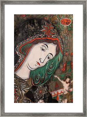 Romania, Transylvania, Sibiel, Glass Framed Print