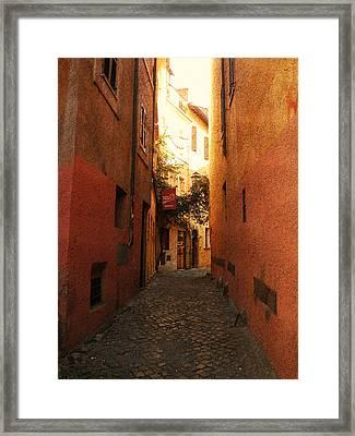 Romano Cartolina Framed Print by Micki Findlay