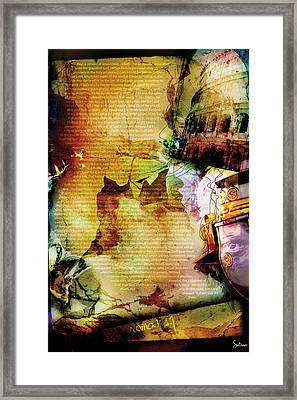Romans 1 Framed Print by Switchvues Design