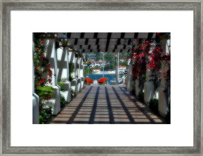 Romantic Corridor Framed Print by See My  Photos