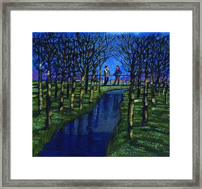 Romantic Encounter Framed Print