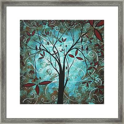Romantic Evening By Madart Framed Print by Megan Duncanson