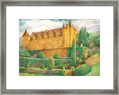 Romantic French Chateau Framed Print