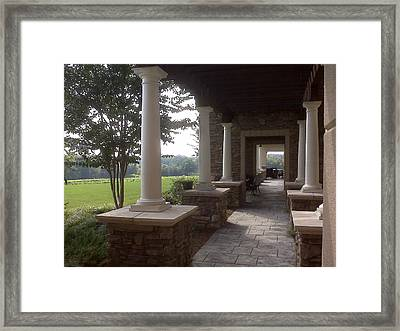 Romantic Getaway Framed Print by Angelia Hodges Clay