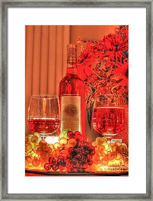 Romantic Interlude Framed Print by Kathy Baccari