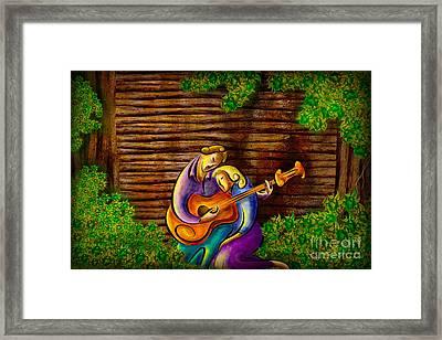 Romantic Moments Framed Print by Bedros Awak