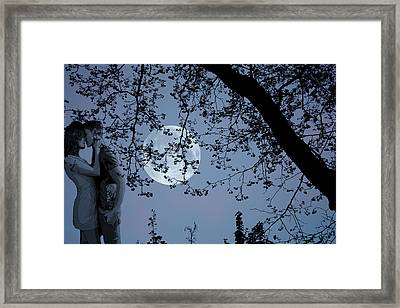Romantic Moon 2  Framed Print
