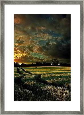 Romantic Of Land Framed Print by Florin Birjoveanu