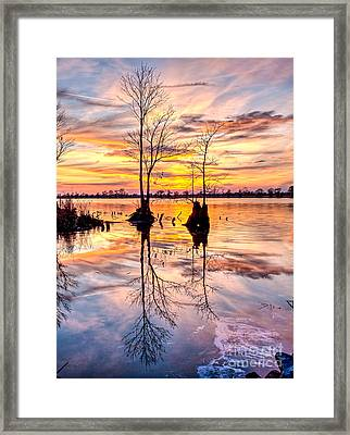 Romantic River Framed Print