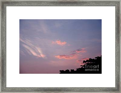 Romantic Sky Framed Print