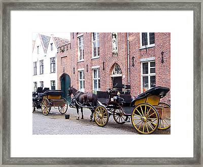 Romantic Taxi  Framed Print by Kevin Askew
