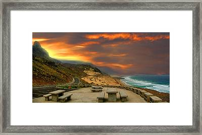 Romantic View Framed Print